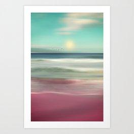 OCEAN DREAM IV-B Art Print
