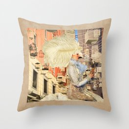 The Cages Throw Pillow