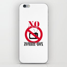 No zombie-box iPhone Skin