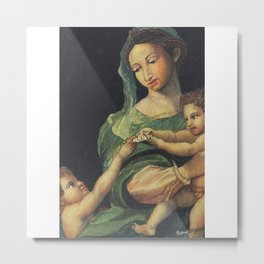 Roman Art - in Watercolor Metal Print
