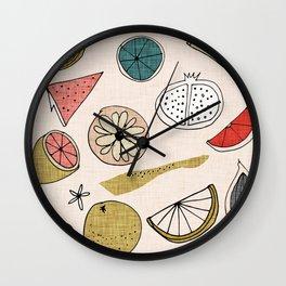 Pop Fruit Pearl Wall Clock