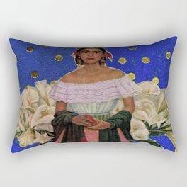 POLKA DOT FRIDA Rectangular Pillow