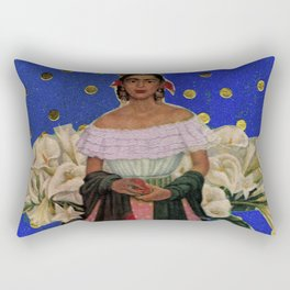 POLKA DOT FRIDA Rectangular Pillow