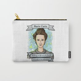 Marie Curie Carry-All Pouch
