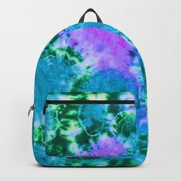 Blue Fun Guy Mushrooms Backpack