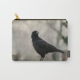 Crow In A Dark Rain  Carry-All Pouch