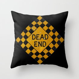 Dead End Shotgun. Throw Pillow