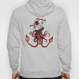 Squid with Diving Helmet Hoody
