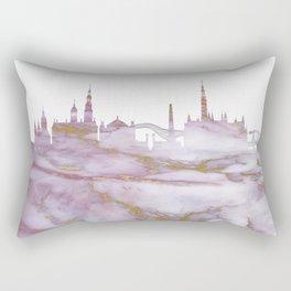 Amsterdam Skyline Netherlands Rectangular Pillow