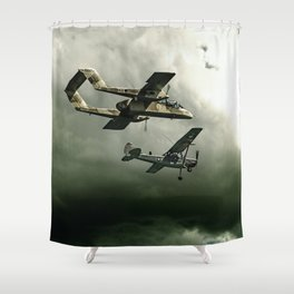 TUE HEROES IV Shower Curtain