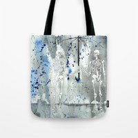 fifth element Tote Bags featuring Element by Autumn Steam