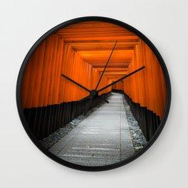 Kyoto Shrine Wall Clock