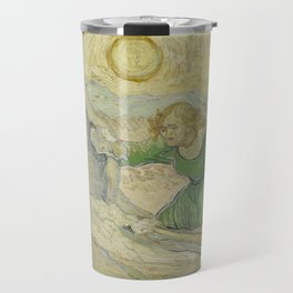 The Raising of Lazarus (after Rembrandt) Travel Mug