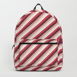 Pomade Tones Inclined Stripes Backpack