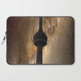 CN Tower Galaxy Laptop Sleeve