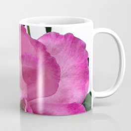 Bodacious Pink Rose | Large Pink Flower | Nature Photography Coffee Mug