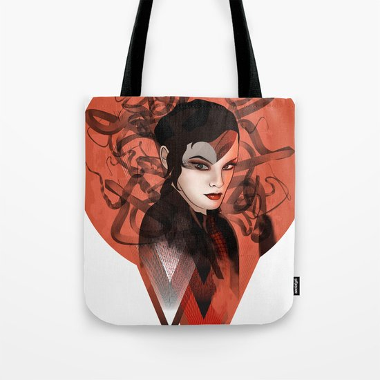 RED TRIANGLE Tote Bag