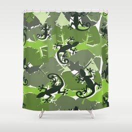 Gek-ko Shower Curtain