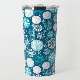 Magical snowflakes IV Travel Mug