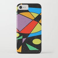 kandinsky iPhone & iPod Cases featuring Abstract #130 by Ron Trickett