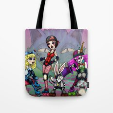Alice in Derbyland Tote Bag