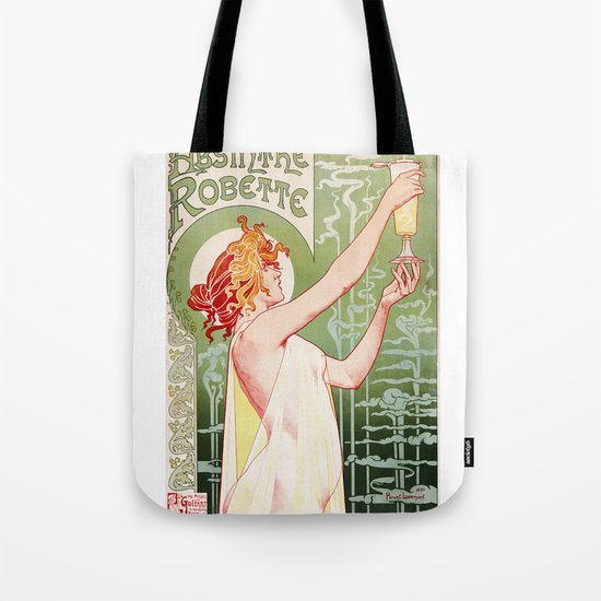 Absinthe Robette Tote Bag