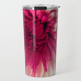 Pink Dahlia Travel Mug