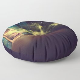 Christmas Mirror  Floor Pillow