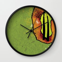 For you - green Wall Clock