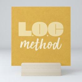 LOC Method [Yellow] Mini Art Print