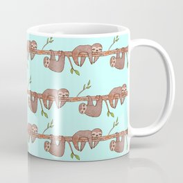 Lazy Baby Sloth Pattern Coffee Mug