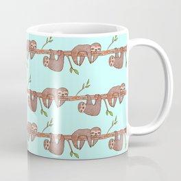 Lazy Baby Sloth Pattern Coffee Mug