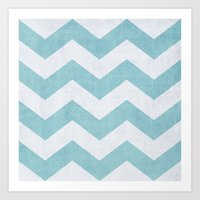salt water Art Prints featuring Salt + Water by The Dreamery