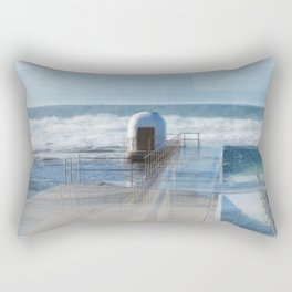 Merewether baths pumphouse Rectangular Pillow