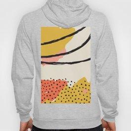 Mid Century Abstract Print, Modernist Modern Art, Color Field Contemporary Art, Large Wall Art, Suns Hoody