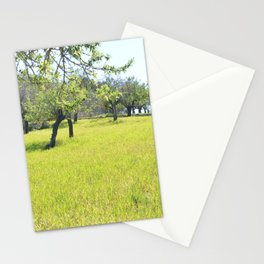 in the nature, in the summer Stationery Cards
