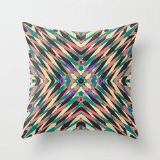 hidden circle Throw Pillow