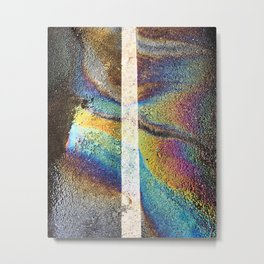 Urban Rainbow Metal Print