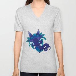 Nightshade Baby Dragon Unisex V-Neck