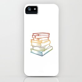 Reading is magical - Book Lover Librarian iPhone Case