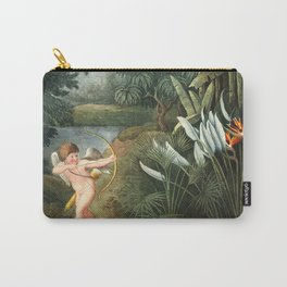 Cupid : New Illustration Of The Sexual System Carry-All Pouch