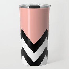 CORA COLORBLOCK CHEVRON  Travel Mug