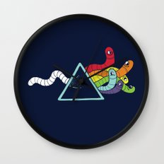 Dark side of the Worm Wall Clock