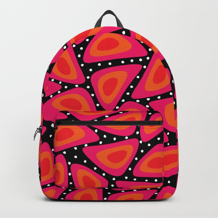Shapes, Slices and Pips Backpack