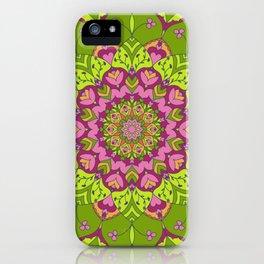 Madeira Mandala iPhone Case