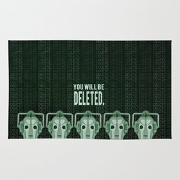 Doctor Who: Cybermen Print Rug