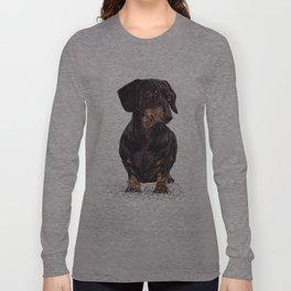Dog-Dachshund Long Sleeve T-shirt