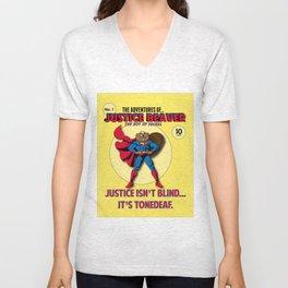 Justice Beaver Unisex V-Neck