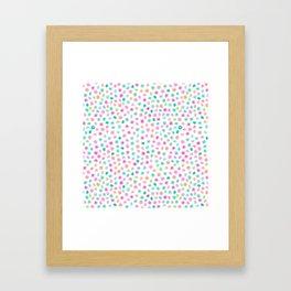Unicorn Spots Framed Art Print