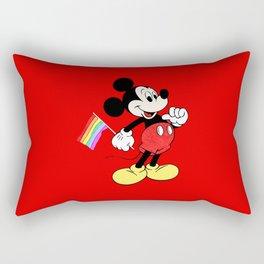 Mickey Mouse - Gay Pride - Gay Days - Pop Art Rectangular Pillow
